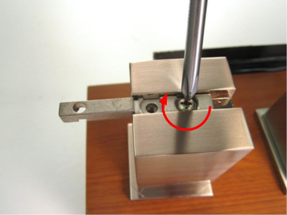 compression spigot controls the flow water