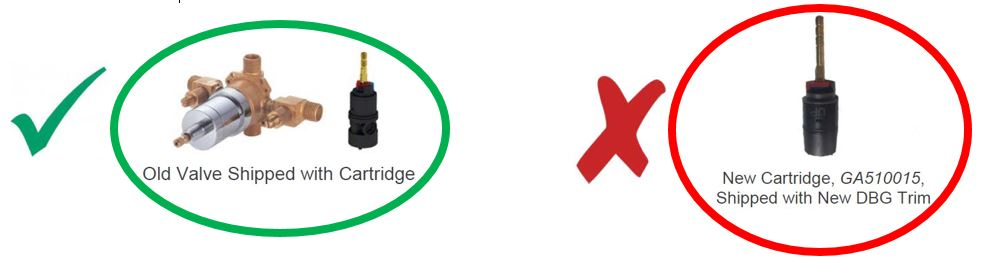 Gerber Treysta Valve System Is My Existing Shower Product Compatible With Treysta Valves